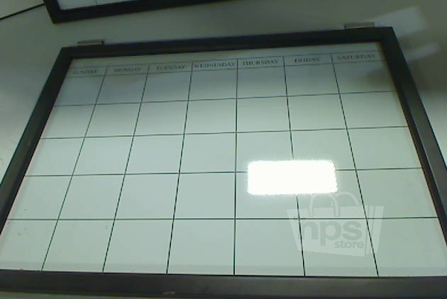 Pottery Barn Magnetic Whiteboard Calendar Daily System Ebay