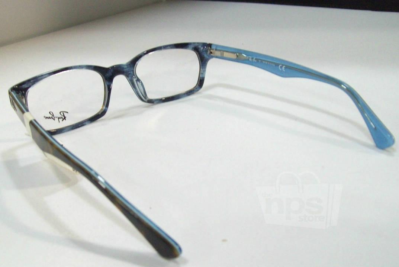 Blue Designer Eyeglass Frames : Ray Ban RX 5150 Womens Havana Blue Designer Eyeglass ...