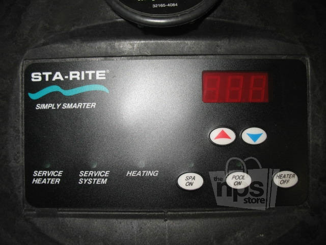 sta rite pool heater manual