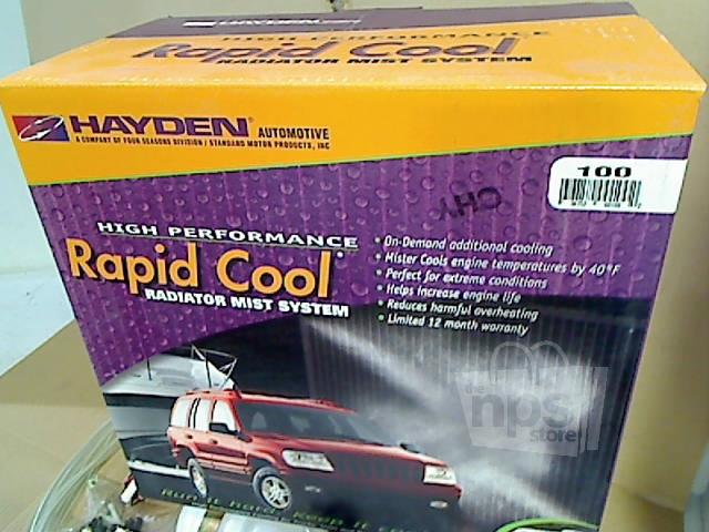 Cool Mist Coolant Tank System : Hayden radiator mist system rapid cool high