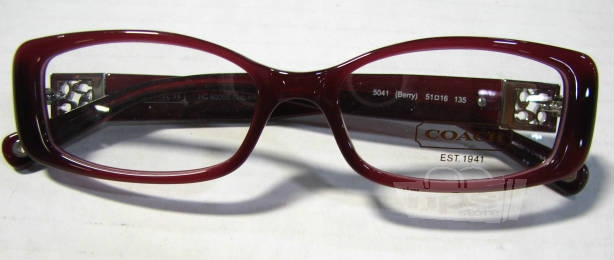 Coach Eyeglass Frames Savannah : Coach HC6006B Savannah Womens Berry 51-16-135mm Eyeglass ...