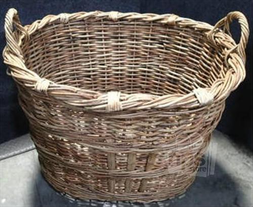 Pottery Barn 1416866 Chelsea Woven Arurog Rattan Basket