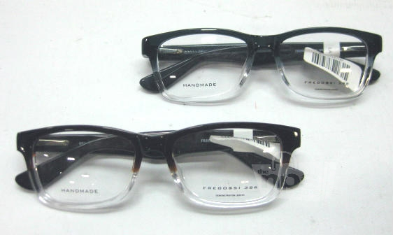 Designer Eyeglass Frames With Crystals : Lot of 2 Fregossi 386 Dark Teal Brown Crystal Mens ...
