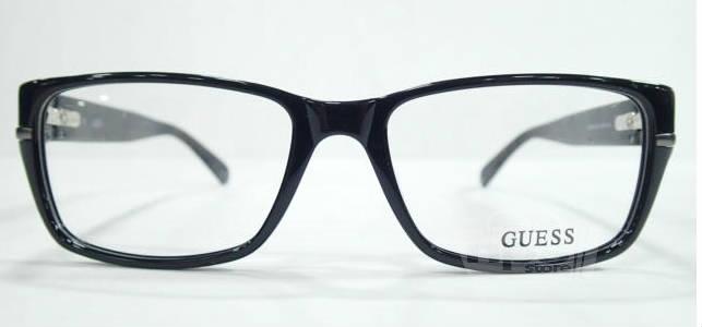 New Guess Eyeglass Frames : Guess 1803 Mens Black Eyeglass Frames 55 17 145 New eBay