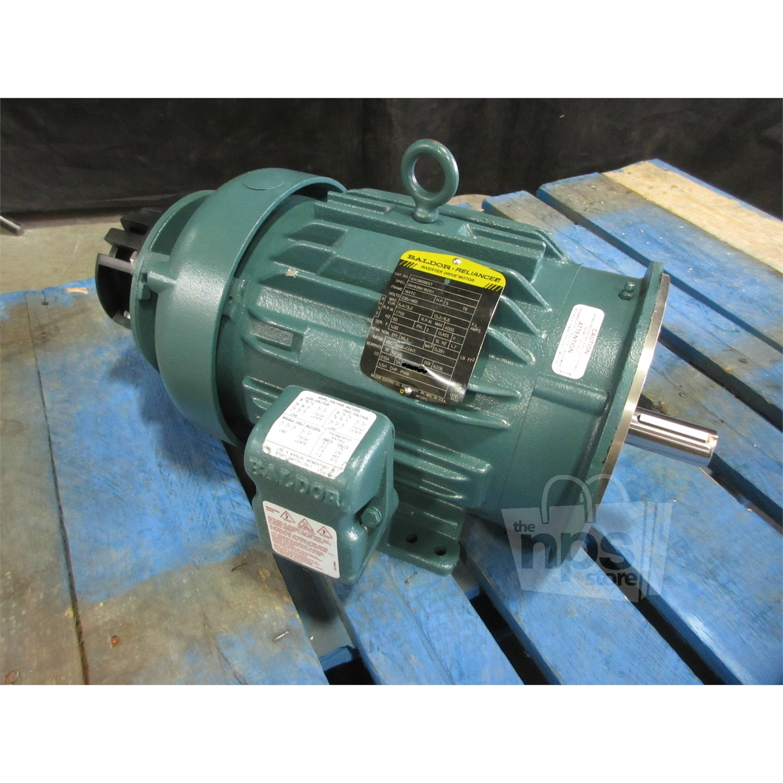 Baldor Idvsm3665t Variable Speed Ac Vs Master Motor 5hp