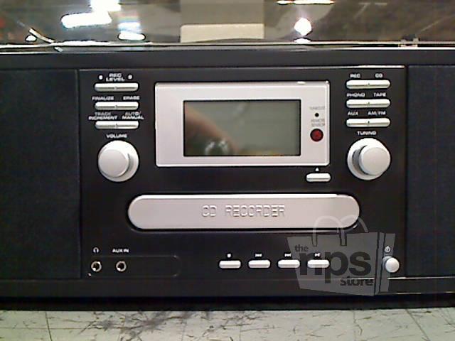 Encore Technology 9397 Nostalgic Cd Turntable Stereo