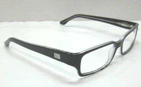 Plastic Frame Glasses Crooked : Ray Ban RB5092 Mens Black Clear Designer Eyeglass Frames ...