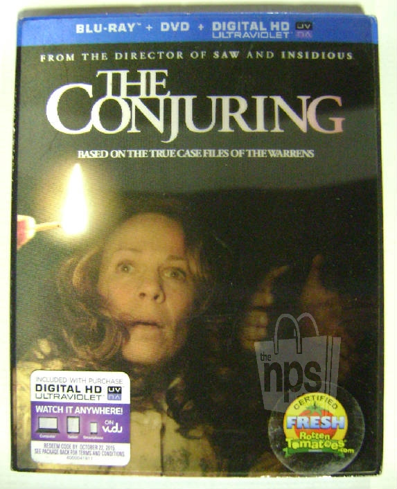 the conjuring blu ray dvd digital hd ultraviolet rated r new ebay. Black Bedroom Furniture Sets. Home Design Ideas