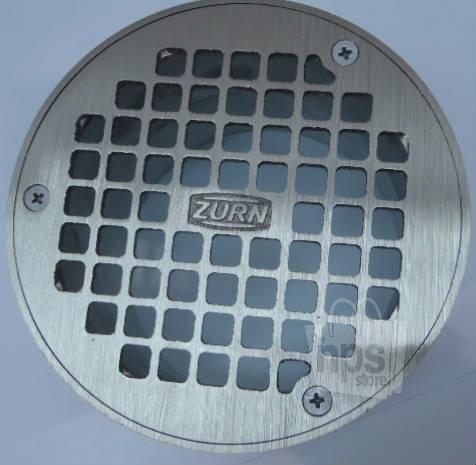 Zurn Bronze Amp Pvc 4 Quot Industrial Round Grate Drain Floor