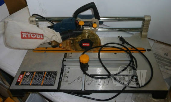Portable Flooring Saw : Ryobi rls v amp quot blade portable flooring saw ebay