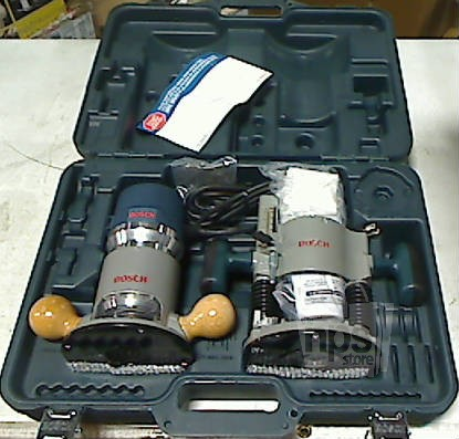 Bosch 1617evspk 2 hp plunge fixed base router combo kit for 3 1 4 hp router motor only