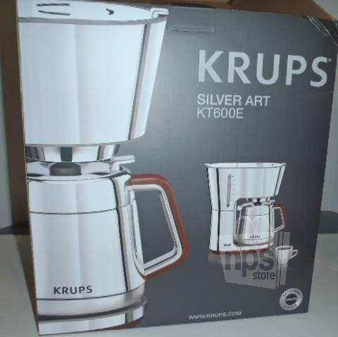 Krups Drip Coffee Maker : Krups KT600E Silver Art 10 cup European Thermal Drip Coffee Maker New eBay