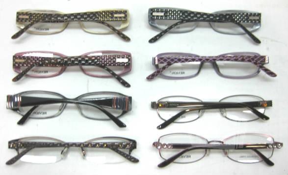 Plastic Frame Glasses Crooked : Lot of 8 Revlon RV5006 RV5007 RV568 RV5004 RV5005 RV5013 ...