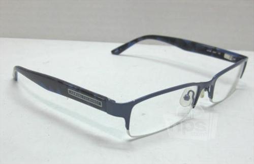 Blue Designer Eyeglass Frames : Armani Exchange AX149 Mens Blue Designer Eyeglass Frames ...