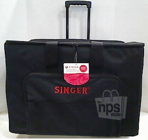 singer rolling sewing machine tote bag