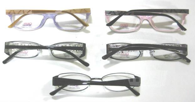 Plastic Frame Glasses Crooked : Lot of 5 Chelsea Morgan CM1013 CM1010 CM1005 Womens ...
