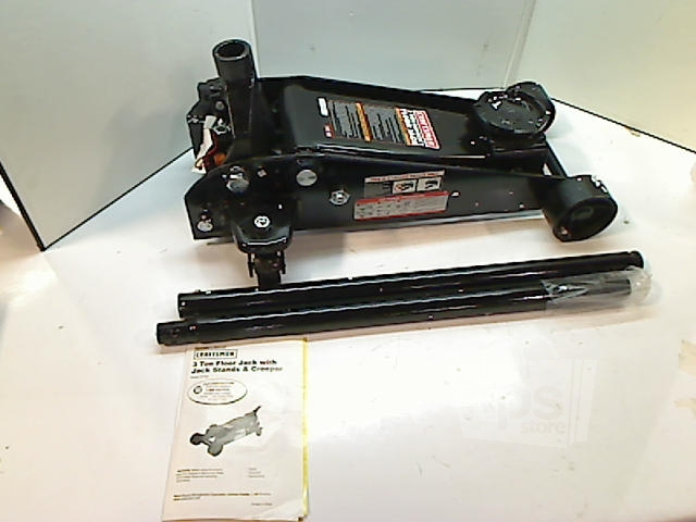 craftsman black 3 ton floor jack only for 50188 ebay