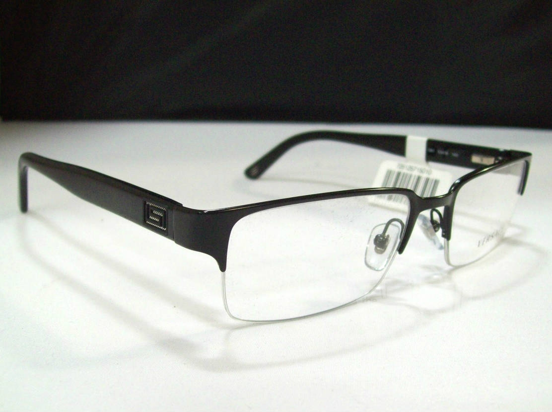 Versace Ve1184 Men S Black Designer Eyeglasses Ebay