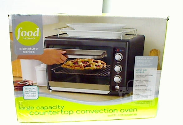 Food Network Countertop Convection Oven Manual : We offer local pickup for our customers who want to save money and not ...