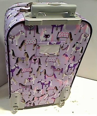 Pottery Barn Kids 2100741 Mackenzie Lavender Horse Luggage
