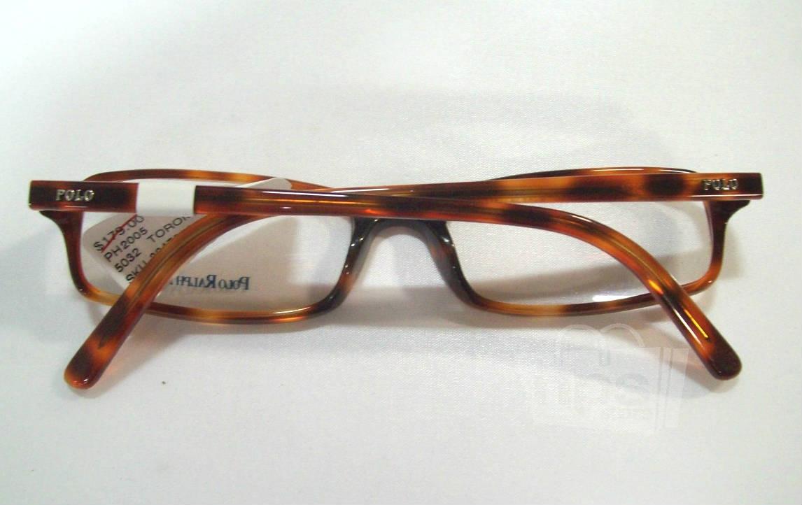 Designer Eyeglass Frames Polo : Polo Ralph Lauren PH 2005 Mens Tortoise Designer Eyeglass ...