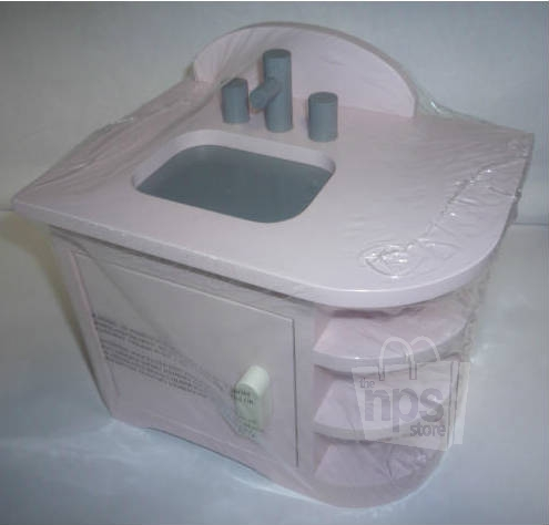 Barn Kitchen Sink : Pottery Barn Kids Doll Retro Kitchen Sink Pink NEW eBay