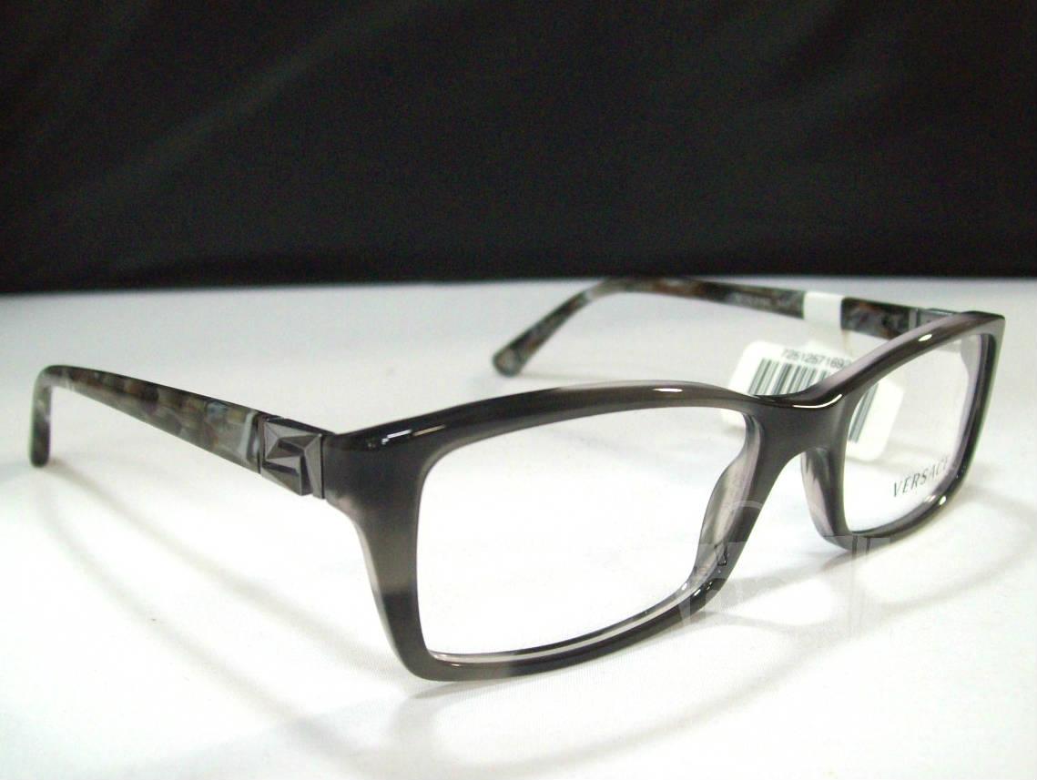 Black Designer Eyeglass Frames : Versace VE3152 Mens Black Designer Eyeglass Frames eBay