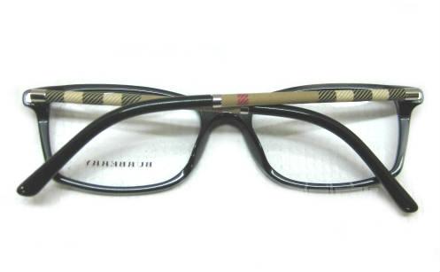 Square Designer Eyeglass Frames : Burberry B2120 Womens Black Designer Eyeglass Frames ...
