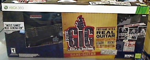 Xbox 360 Power Gig: Rise of the Six String Guitar Kit *