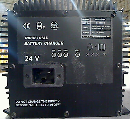 Utah Auto Auction >> Signet Systems HB600-24B Industrial Battery Charger 24V   eBay