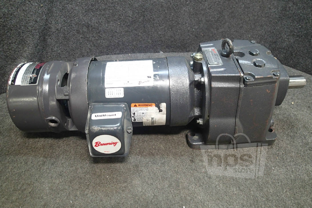 Emerson E190 Browning Speed Reducer Electric Motor 2hp Ebay