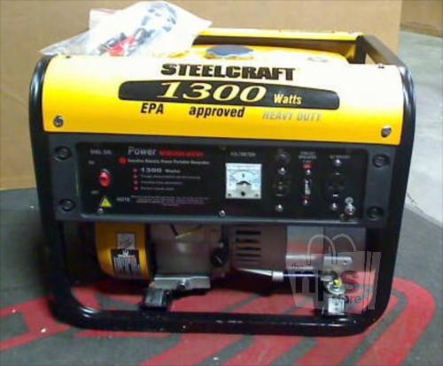 Steelcraft 1300 W Generador Port U00e1til 2 6 Hp Nuevo