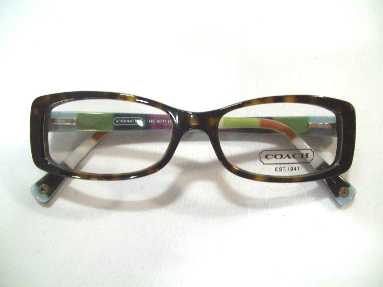 11b86f6c709c Ladies Coach Eyeglass Frames