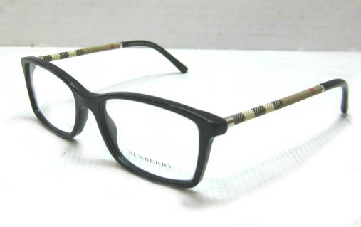 Burberry B2120 Womens Black Designer Eyeglass Frames ...