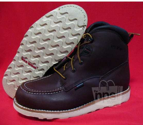 Red Wing 405 Men S Size 10 5 D Brown Waterproof 6 Inch