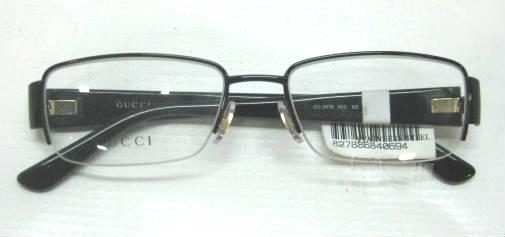 b0ed49fd52 Gucci Gg 1953 Semi-rimless Eyeglasses