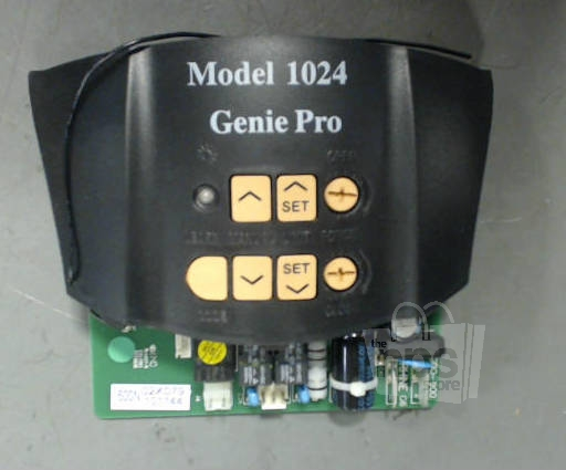 Genie Pro 1024 Black Circuit Board For Garage Door Opener
