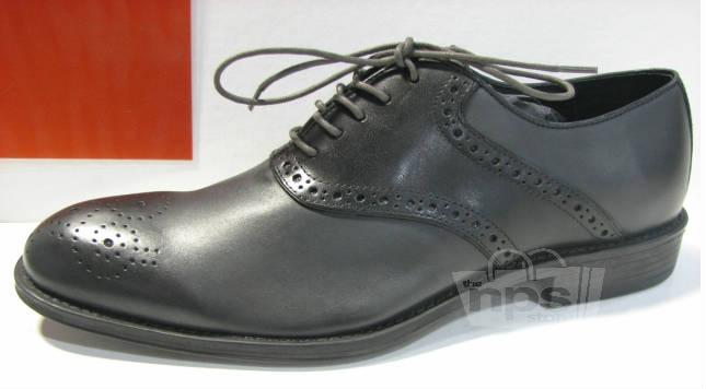aston grey archer s size 8 5 grey black oxford dress