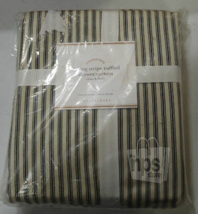 Pottery Barn 2738037 Cotton Foundations Ticking Stripe