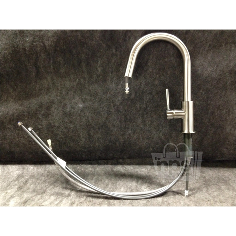 brizo 63020lf ss solna high rise pull down kitchen faucet brizo 63220lf ss brilliance stainless solna pull out