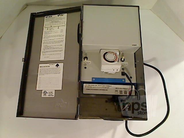 mt 600t low voltage two circuit landscape lighting transformer ebay. Black Bedroom Furniture Sets. Home Design Ideas