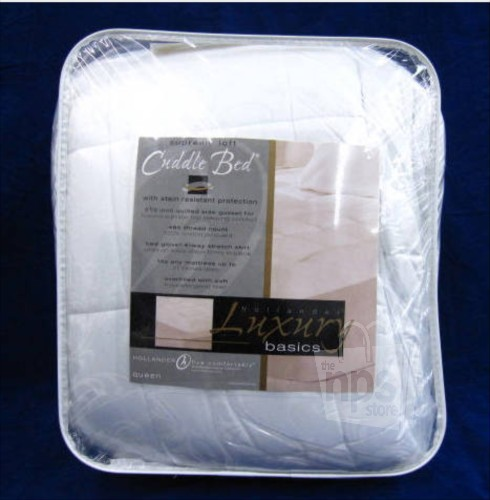 Hollander Cuddle Bed Mattress Topper Queen Supreme Loft Ebay