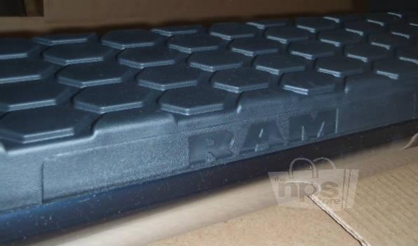 mopar 82213591 5 oval tubular side steps running boards for dodge ram 2013 ebay. Black Bedroom Furniture Sets. Home Design Ideas