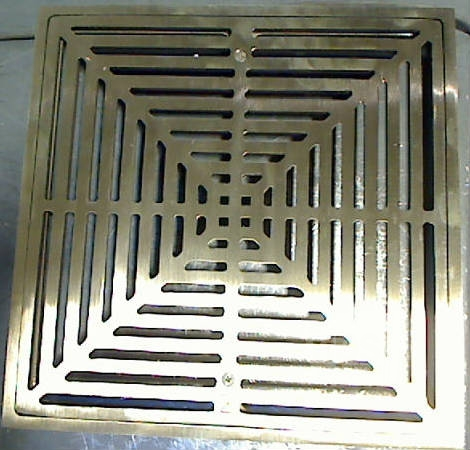 Sioux Chief 861 52in Open Half 12 Quot X 12 Quot Commercial Drain