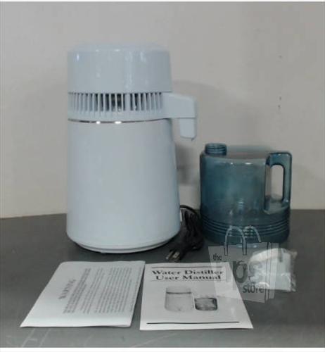 Love Water Distiller ~ American water distillers love model white w steel