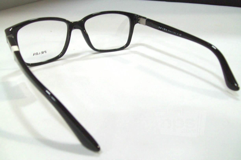 Black Designer Eyeglass Frames : Prada PR 01OV Mens Black Designer Eyeglass Frames eBay