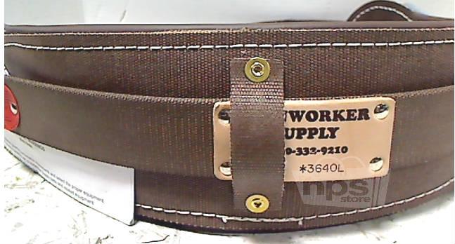 ironworker 3640l large 36 quot 40 quot waist leather back pad